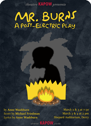 Mr. Burns, a post-electric play by Anne Washburn