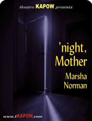 an analysis of night mother work by marsha norman Getting out 'night, mother by marsha norman - winner of the pulitzer prize for   of a southern poet who gives up her last young lover to complete her life's work.