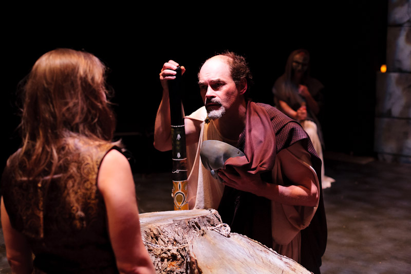 Carey Cahoon and Peter Josephson in Agamemnon